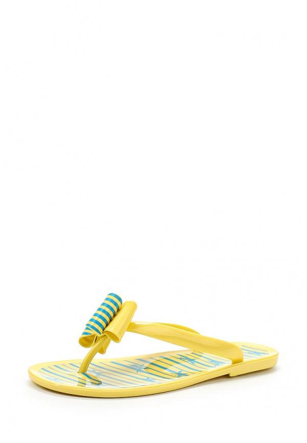 Сланцы Mon Ami 15S-4511 жёлтые