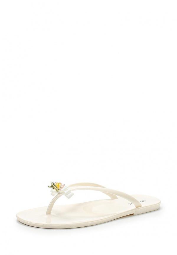 Сланцы Mon Ami S-5147 белые