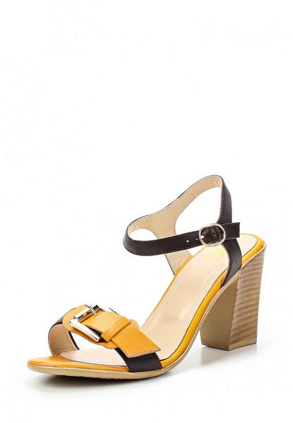Туфли VELVET 1210-TSL-14-KK коричневые, оранжевые