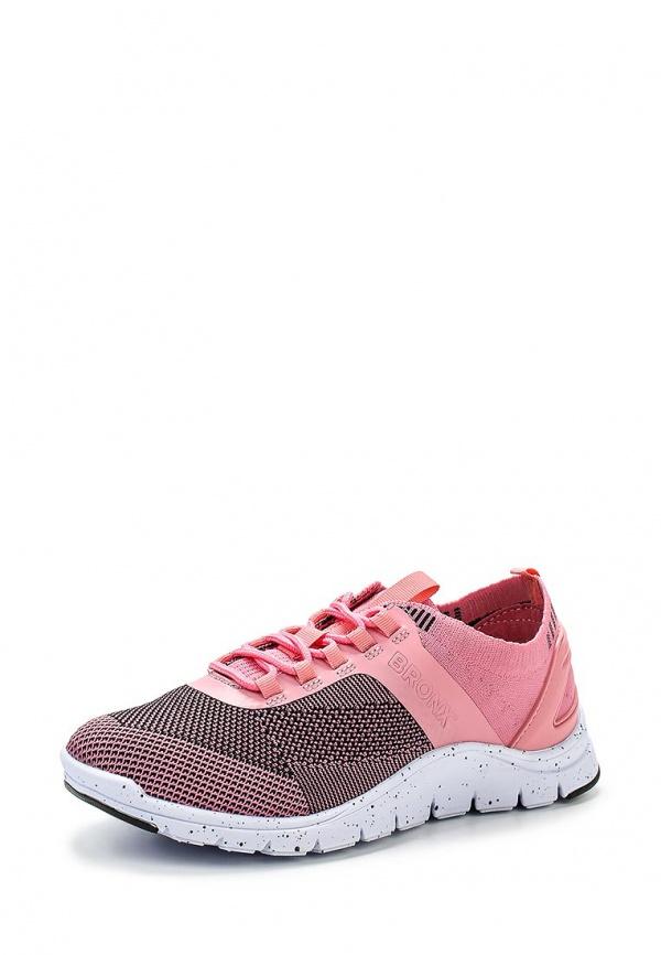 Кроссовки Bronx 65262-A-99 розовые