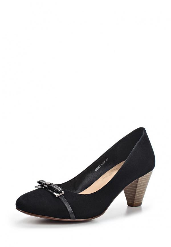 Туфли La Grandezza D6001-102A чёрные