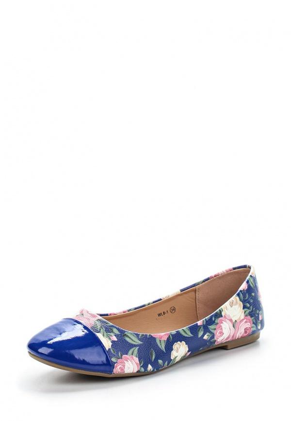 Балетки WS Shoes WL8-1 синие