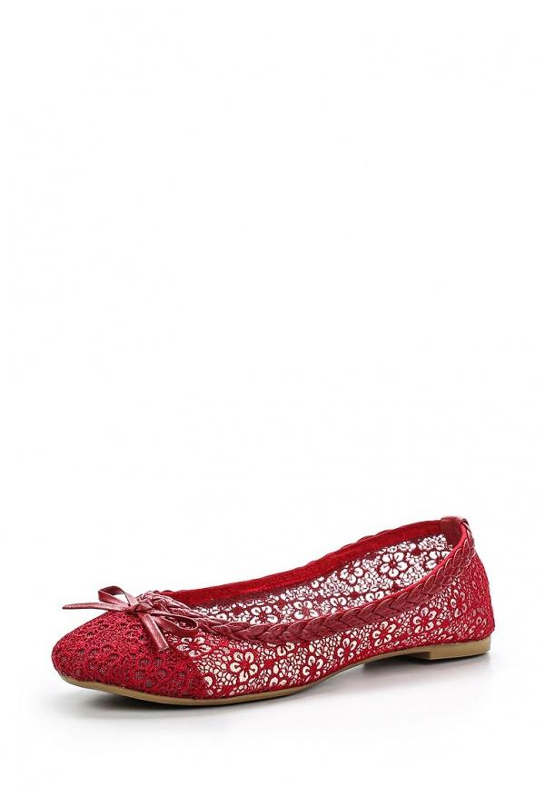 Балетки WS Shoes WL 8-3 красные