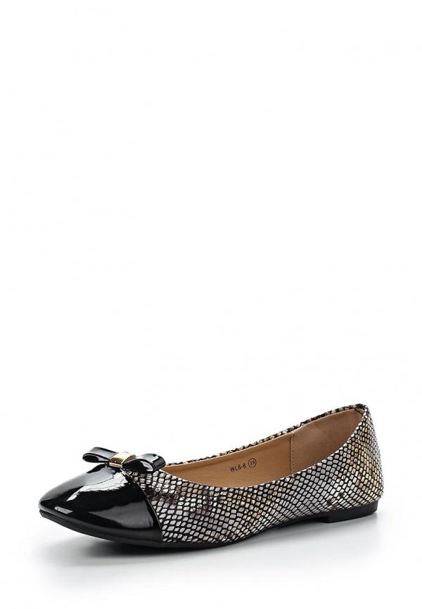 Балетки WS Shoes WL 8-6 чёрные