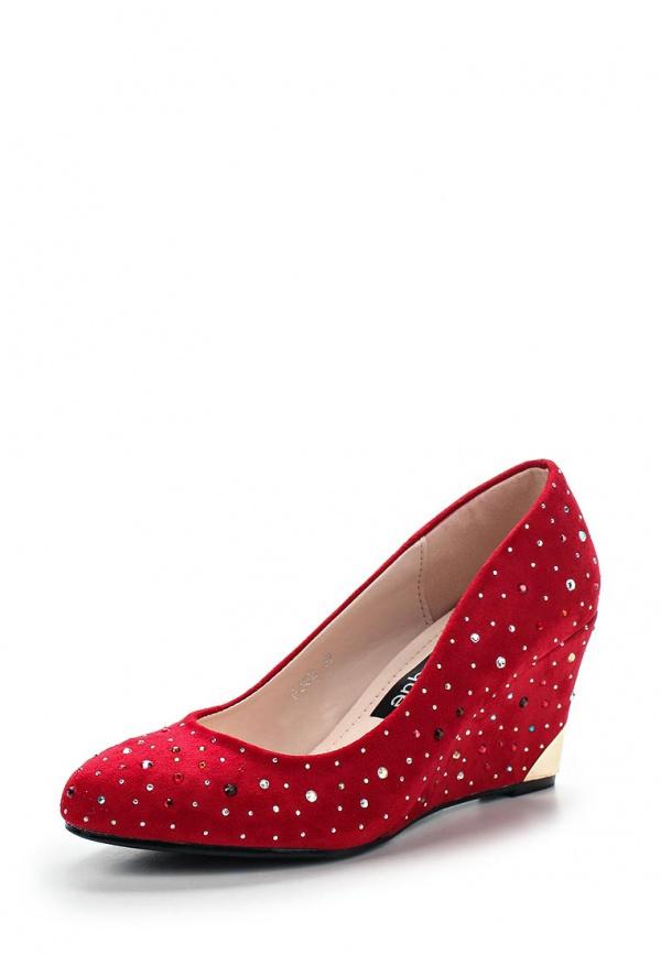 Туфли Burlesque HRC-1512-25 красные
