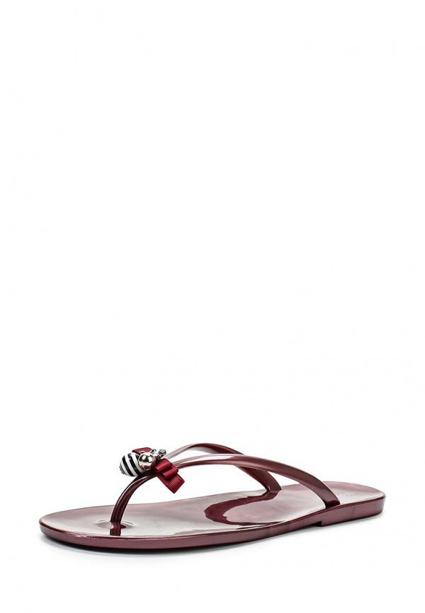 Сланцы Mon Ami 15S-3813 бордовые