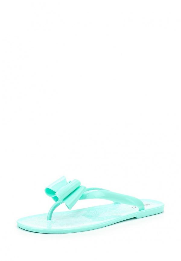 Сланцы Mon Ami 15S-4376 голубые