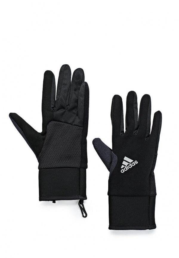 Перчатки беговые adidas Performance G89586 чёрные