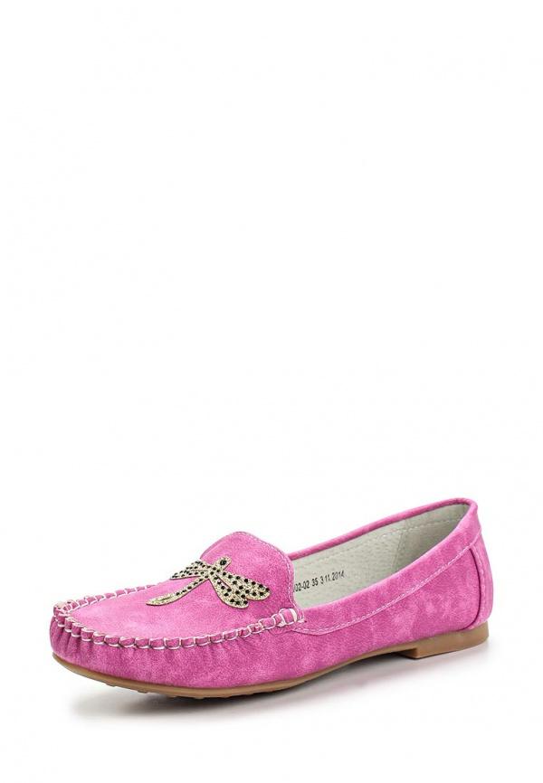 Мокасины Betsy 957648/02-02 розовые