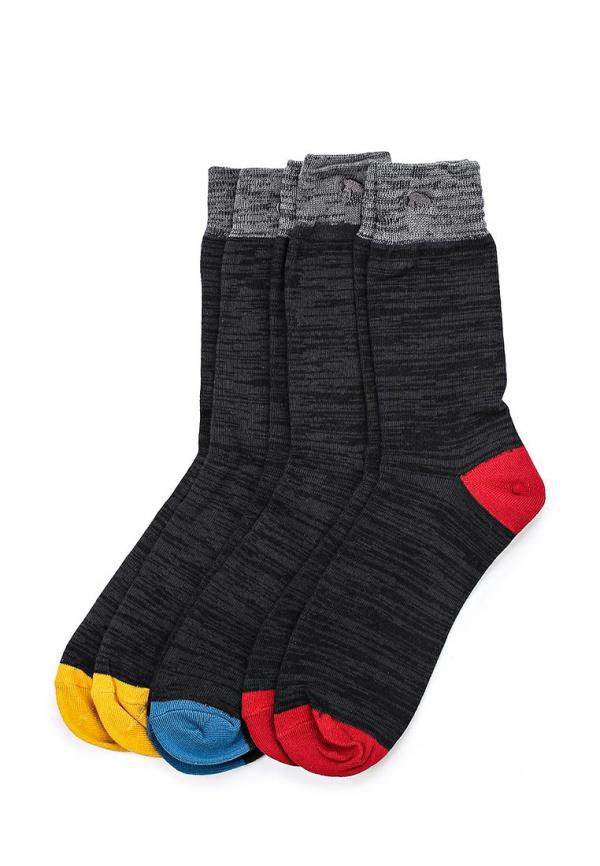 Комплект носков 3 пары Bellfield B SOCK F чёрные