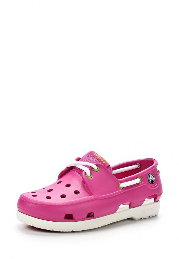 Топсайдеры Crocs 15914-69C розовые