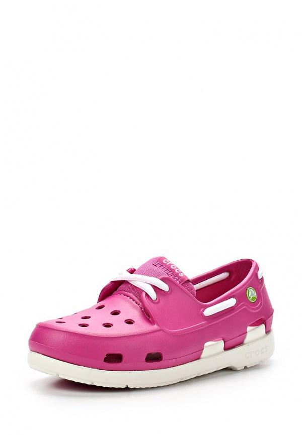 Топсайдеры Crocs 15915-69C розовые