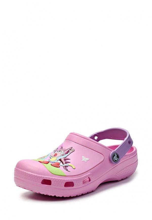 Сабо Crocs 14045-6Q4 розовые