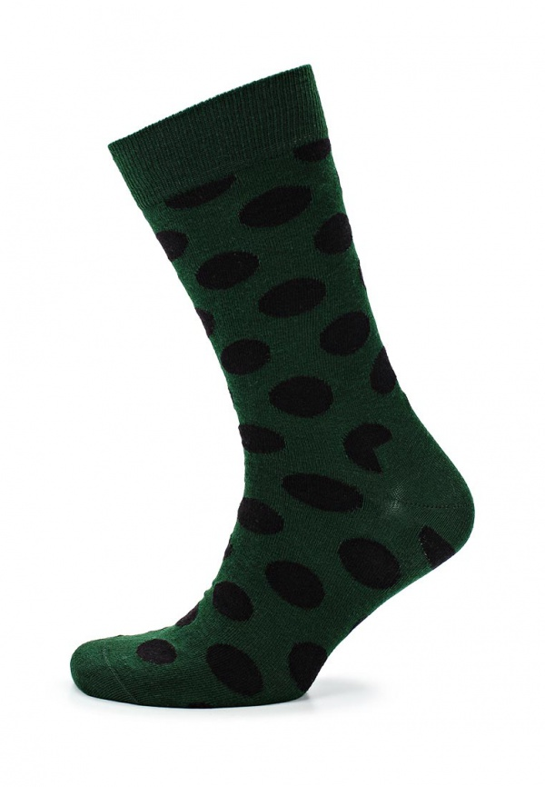 Носки Happy Socks BD01 зеленые