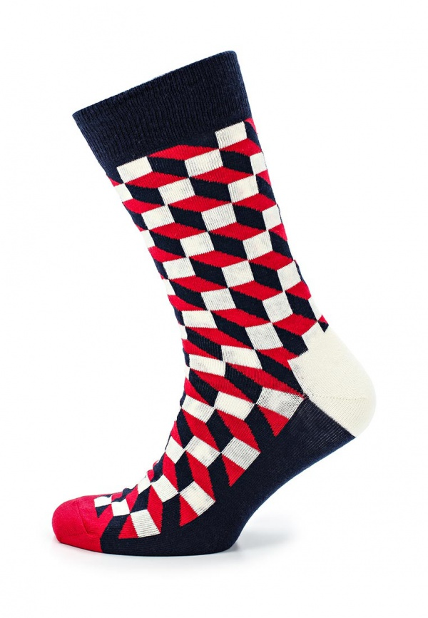 Носки Happy Socks FO01 разноцветный