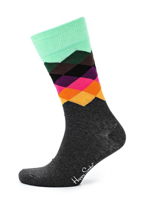 Носки Happy Socks FD01 серые