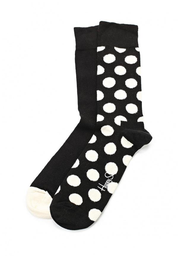 Комплект носков 2 шт. Happy Socks BD02 разноцветный