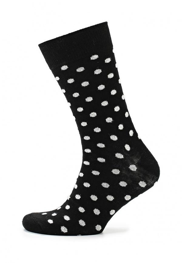 Носки Happy Socks DO01 чёрные
