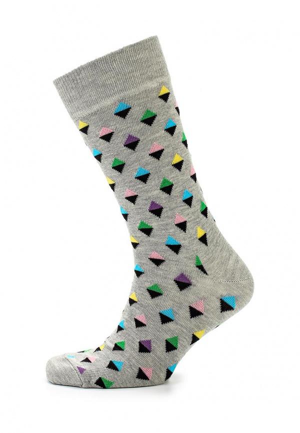 Носки Happy Socks MD01 серые