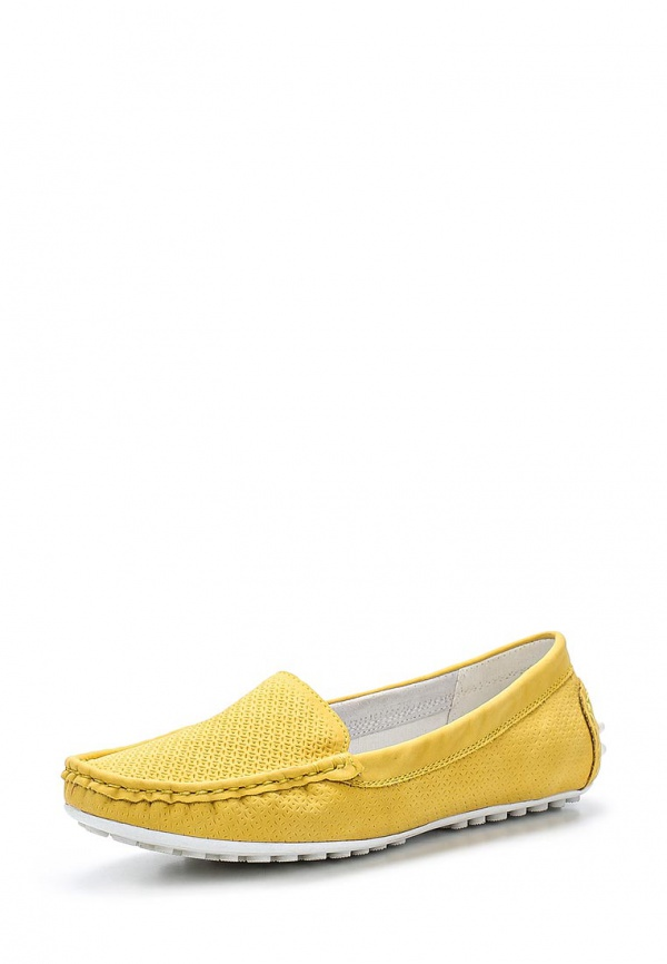 Мокасины Keddo 557300/01-08K жёлтые