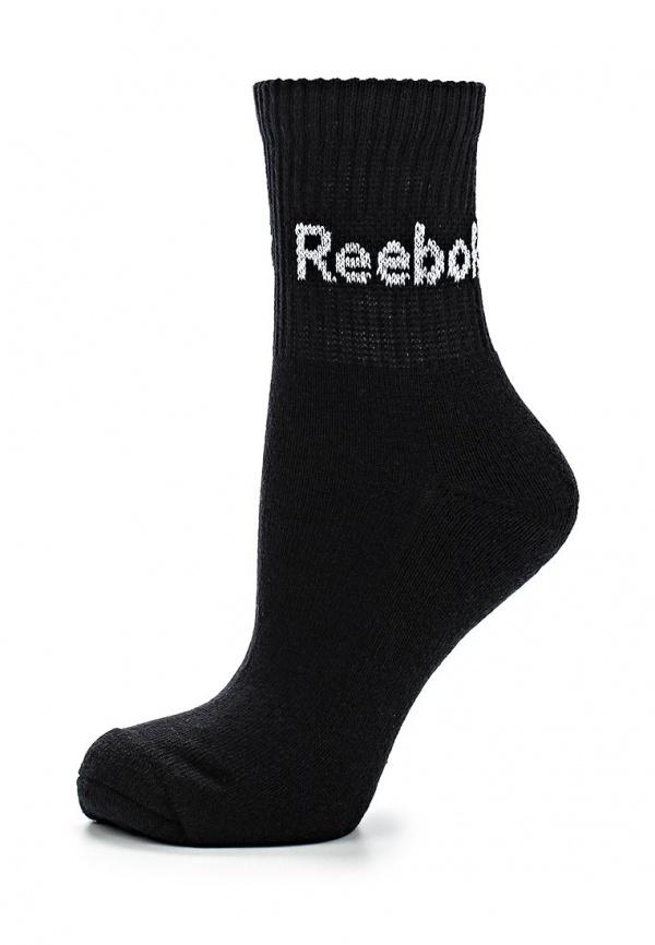 Носки 3 пары Reebok S87259 чёрные