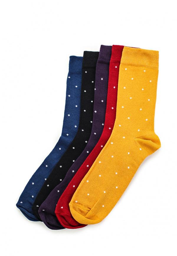 Комплект носков 5 пар. Topman 85D39JMUL разноцветный