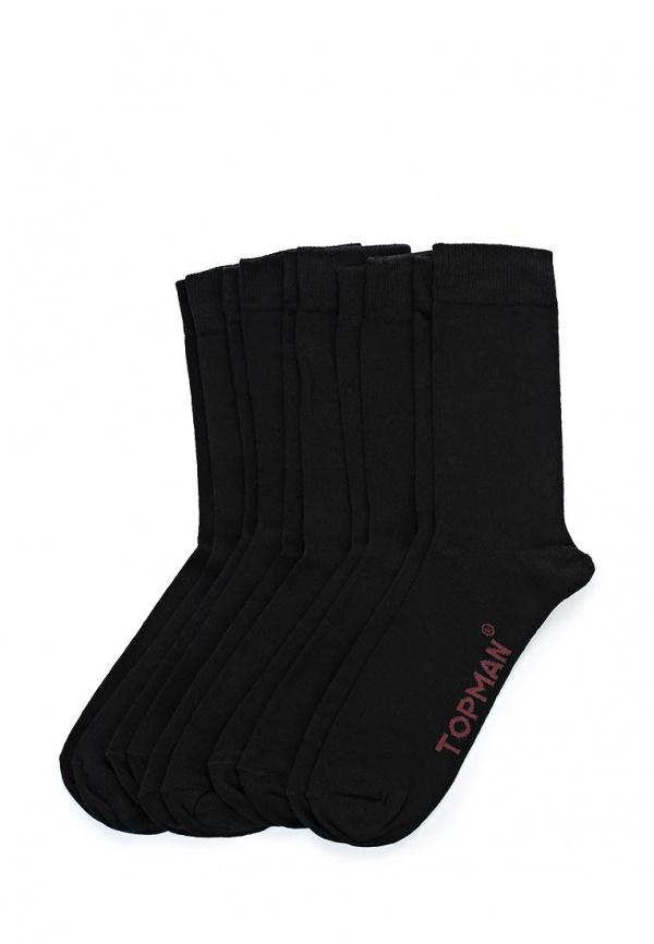Комплект носков 5 пар. Topman 85D06JBLK чёрные
