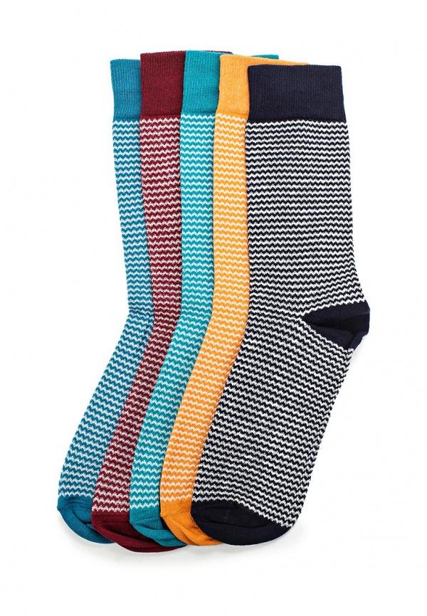 Комплект носков 5 пар Topman 85D33JMUL разноцветный