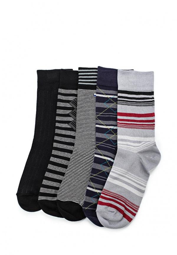 Комплект носков 5 пар John Jeniford С110019 разноцветный