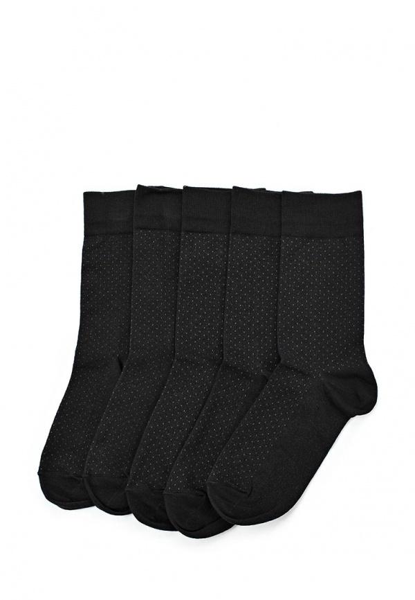 Комплект носков 5 пар. John Jeniford С110419 чёрные