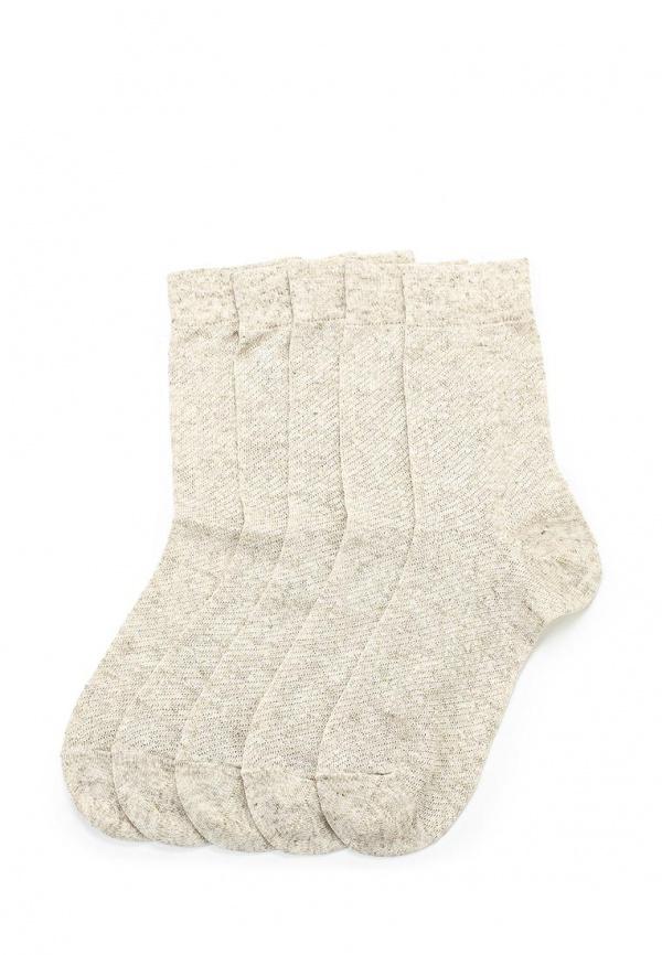 Комплект носков 5 пар John Jeniford С110719 бежевые