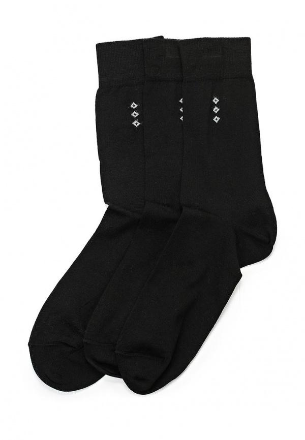 Комплект носков 3 пары John Jeniford М110619 чёрные