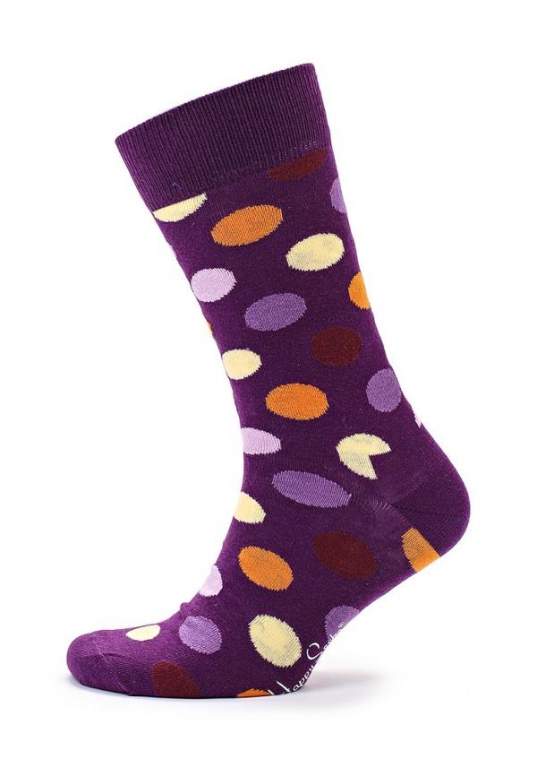 Носки Happy Socks BD01 фиолетовые