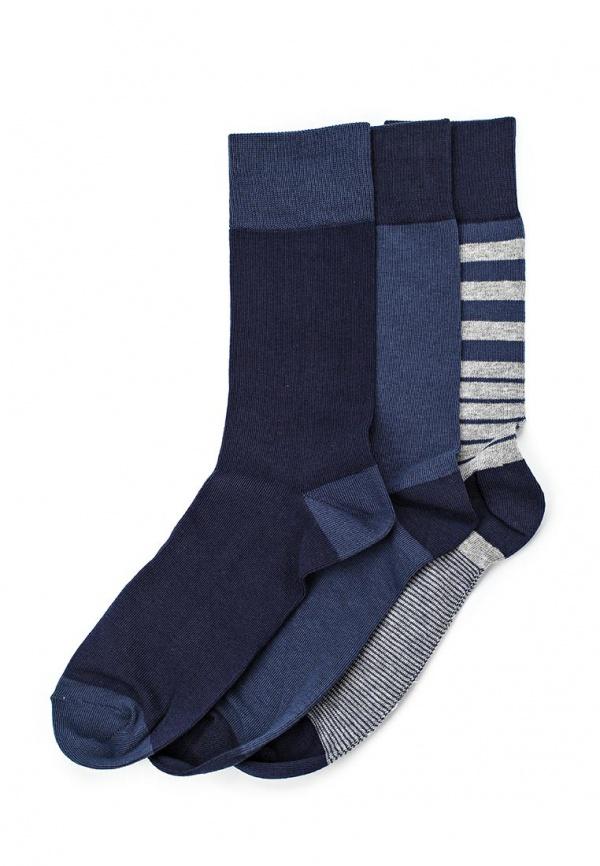 Комплект носков 3 шт. Celio BIRAY синие