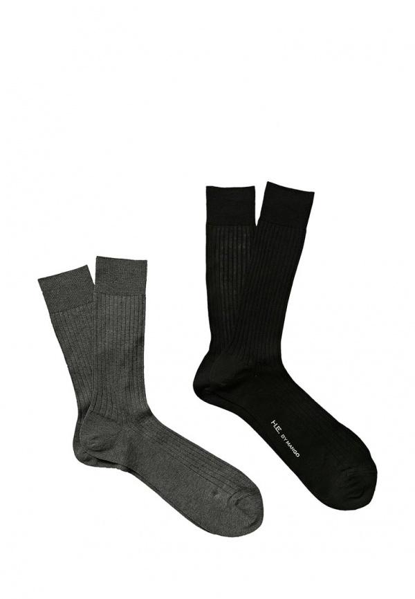 Комплект носков 2 шт. Mango Man 43000407 разноцветный