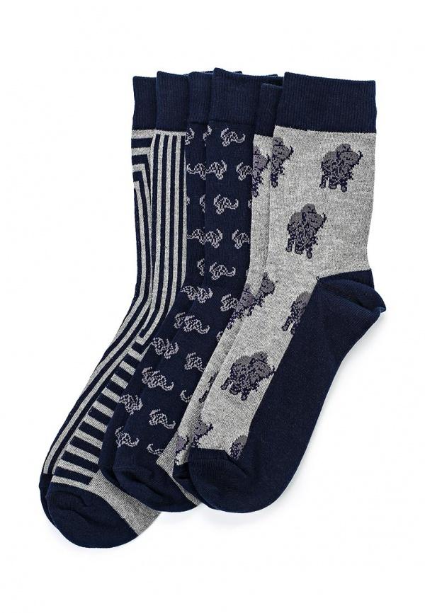 Комплект носков 3 пары Bellfield B SOCK J разноцветный