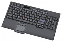 Lenovo Keyboard w/ Int. Pointing Device Russian 441 Black USB