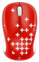 Logitech Wireless Mouse M235 910-004035 White-Red USB