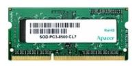Apacer DDR3 1066 ECC SO-DIMM 4Gb