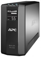 APC by Schneider Electric Power-Saving Back-UPS Pro 550