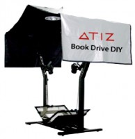 ATIZ BookDrive DIY model B + Canon EOS 60D