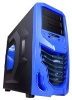 RaidMAX Cobra w/o PSU Black/blue