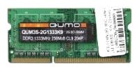 Qumo DDR3 1333 SO-DIMM 8Gb