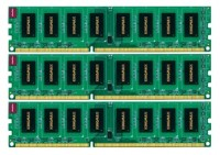 Kingmax DDR3 1600 DIMM 3Gb Kit (3*1Gb)