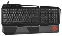 Mad Catz S.T.R.I.K.E. 3 Gaming Keyboard Glossy Black USB