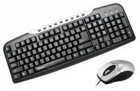 Aneex E-KM1865 Black-Silver USB