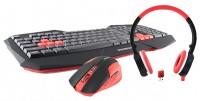 Modecom MC-WGSC1 Black-Red USB