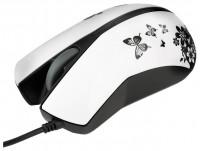 Modecom YUPI ART BUTTERFLY White-Black USB