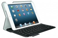 Logitech Wireless Ultrathin Keyboard Folio for iPad mini Black Bluetooth