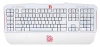 Tt eSPORTS by Thermaltake Mechanical Gaming keyboard MEKA G-Unit Combat KB-MGU006RUE White USB